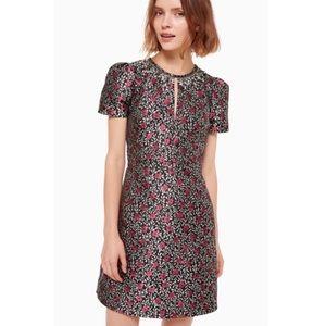 NWT Kate Spade Floral Park Jacquard Dress Size 12